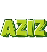 Aziz summer logo