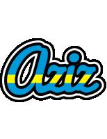 Aziz sweden logo