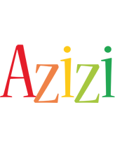 Azizi birthday logo