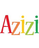 Azizi birthday logo