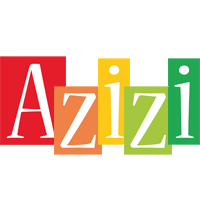 Azizi colors logo