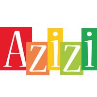 Azizi colors logo