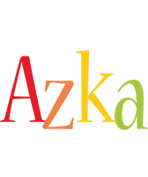 Azka birthday logo