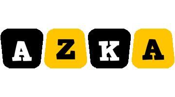 Azka boots logo