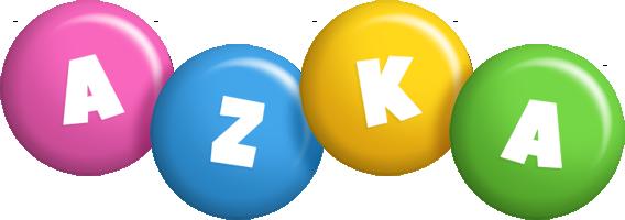 Azka candy logo