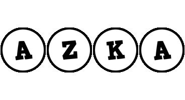 Azka handy logo