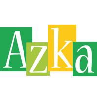 Azka lemonade logo