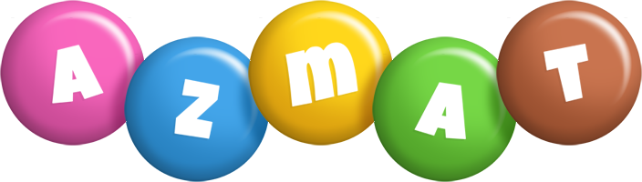 Azmat candy logo