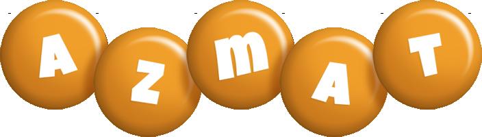 Azmat candy-orange logo
