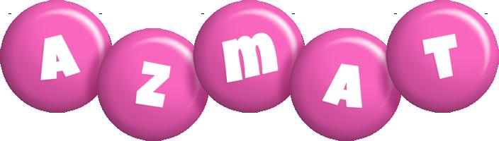 Azmat candy-pink logo