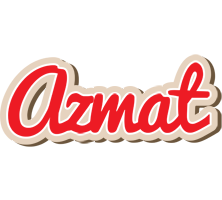 Azmat chocolate logo