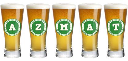 Azmat lager logo