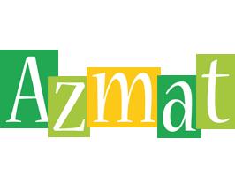 Azmat lemonade logo