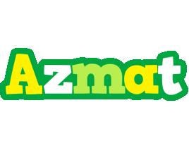 Azmat soccer logo
