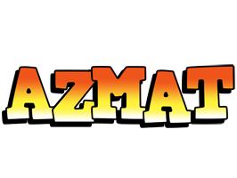 Azmat sunset logo