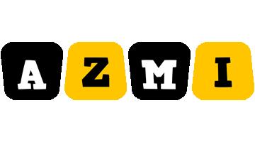 Azmi boots logo