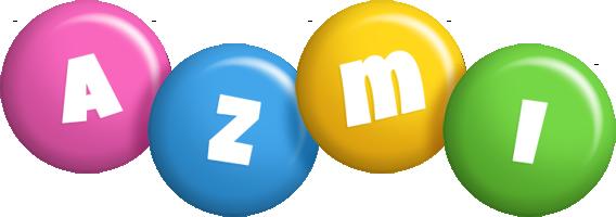 Azmi candy logo
