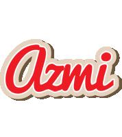 Azmi chocolate logo