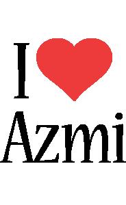 Azmi i-love logo