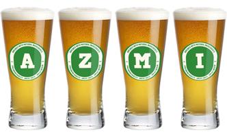 Azmi lager logo