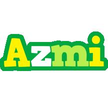 Azmi soccer logo