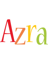Azra birthday logo