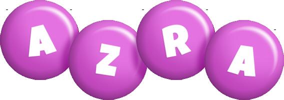 Azra candy-purple logo