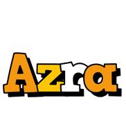 Azra cartoon logo