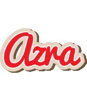 Azra chocolate logo
