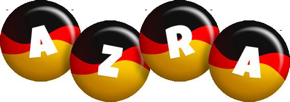 Azra german logo