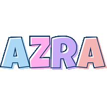 Azra pastel logo