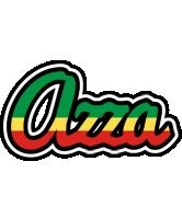 Azza african logo