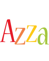 Azza birthday logo