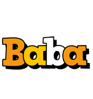 Baba cartoon logo