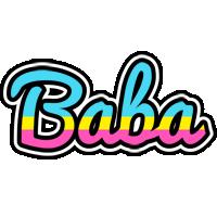Baba circus logo