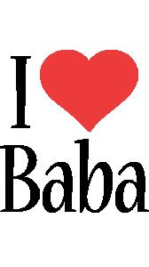 Baba i-love logo