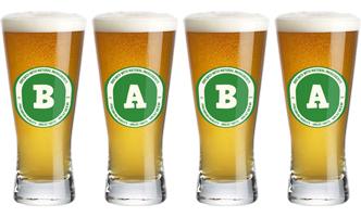 Baba lager logo