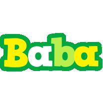 Baba soccer logo