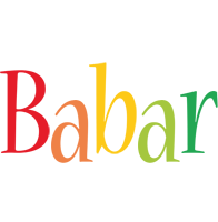 Babar birthday logo