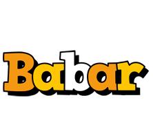 Babar cartoon logo