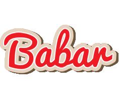 Babar chocolate logo