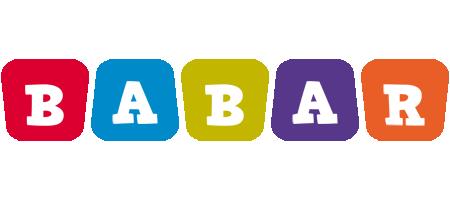 Babar kiddo logo