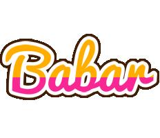 Babar smoothie logo