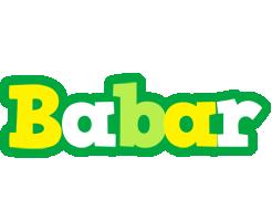 Babar soccer logo