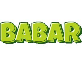 Babar summer logo