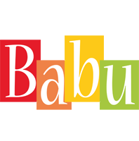 Babu colors logo