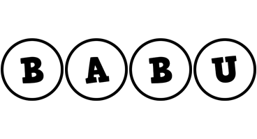 Babu handy logo