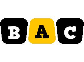 Bac boots logo