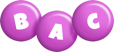 Bac candy-purple logo