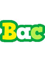 Bac soccer logo